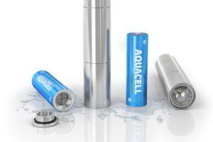 Las nuevas baterías ecológicas tienen la capacidad de cargarse por medio de agua