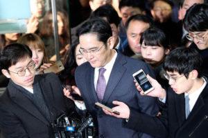 Lee Jae Yong, fue arrestado por su presunta vinculación con el caso de corrupción que involucra a la presidente surcoreana Park Geun Hye