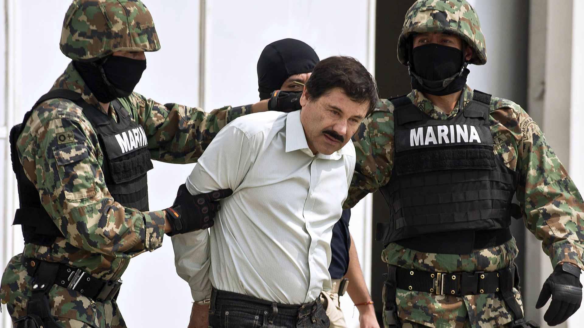 """El narcotraficante Joaquín """"El Chapo"""" Guzmán será presentado ante la corte federal de Brooklyn por sus múltiples cargos"""