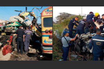 El accidente se produjo en la mañana de este jueves e inicialmente se registraban 16 fallecidos