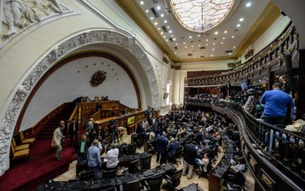 El Parlamento opositor desea que se restaure el cauce pacifico en el país