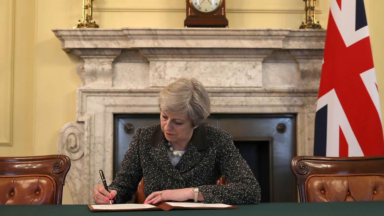 La primera ministra indicó que se le concederá un estatus especial en el mercado común europeo