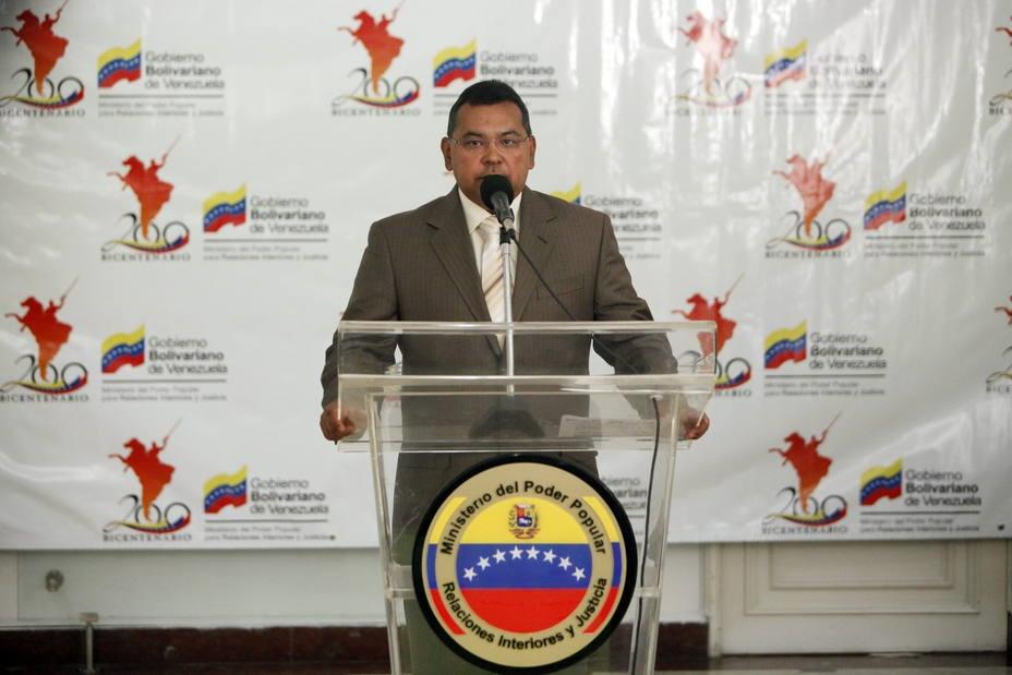El ministro de Interior, Justicia, y Paz ofreció un balance del asueto