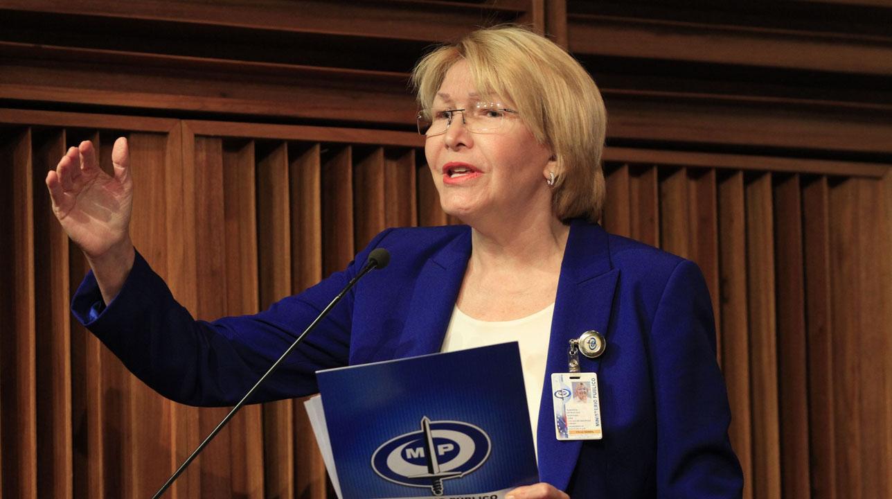 Durante la presentación del Informe Anual de Gestión 2016, Luisa Ortega Díaz expuso datos oficiales a medios venezolanosDurante la presentación del Informe Anual de Gestión 2016, Luisa Ortega Díaz expuso datos oficiales a medios venezolanos