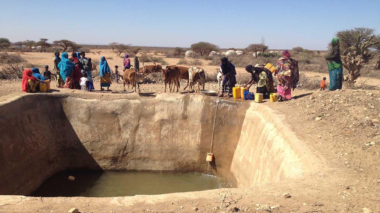 """El país decretó a finales de febrero el estado de """"catástrofe nacional"""" por la sequía que amenaza a tres millones de personas"""