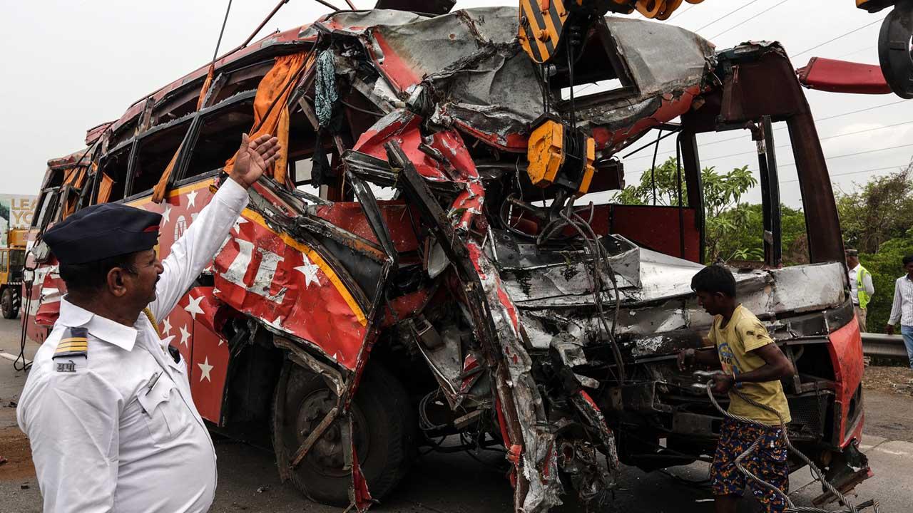 el choque ocurrió en el estado de Rajastán