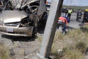 El hecho ocurrió en la autopista José Antonio Paéz