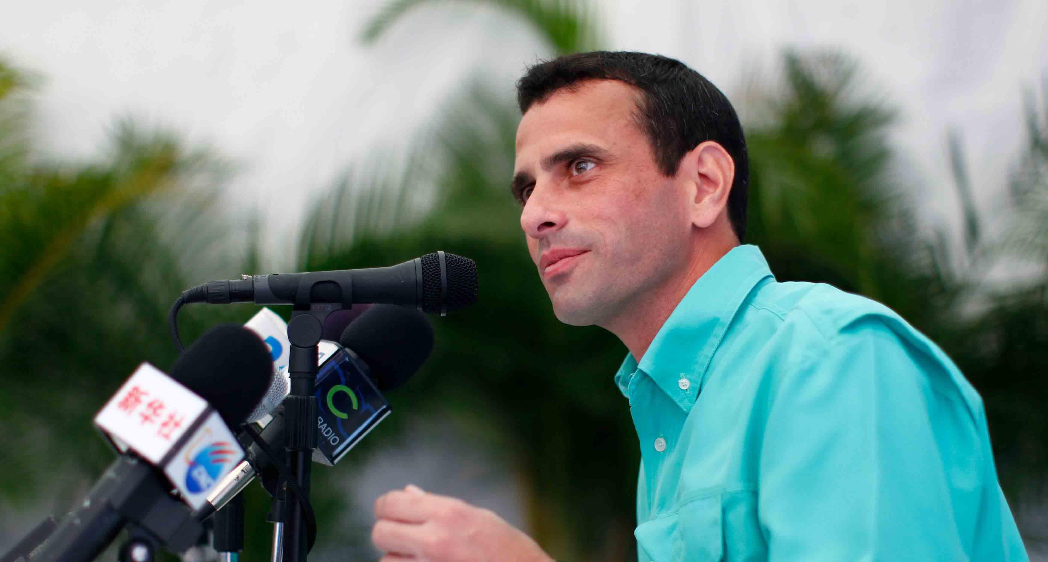 El líder opositor también informó sobre varias denuncias que han recibido de las personas que acudieron al proceso