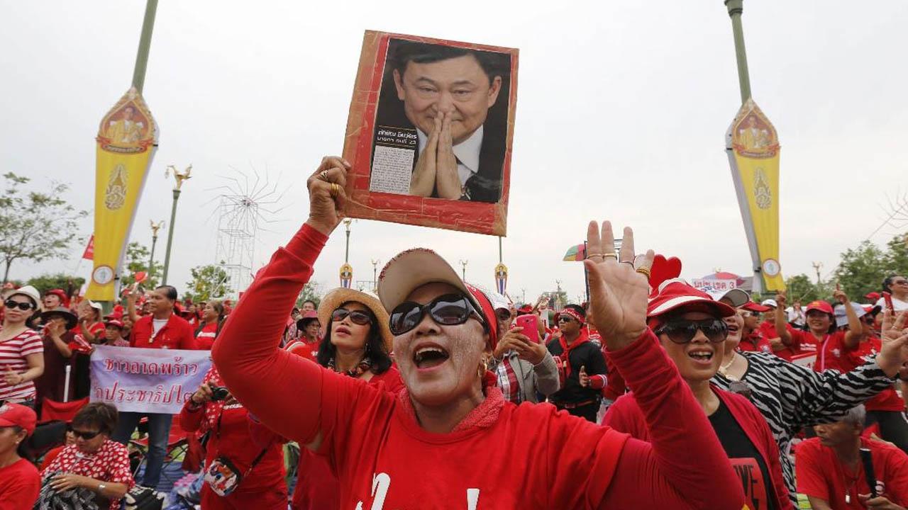 Dos años de prisión para el político tailandés