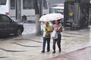 Las lluvias continuarán en Venezuela