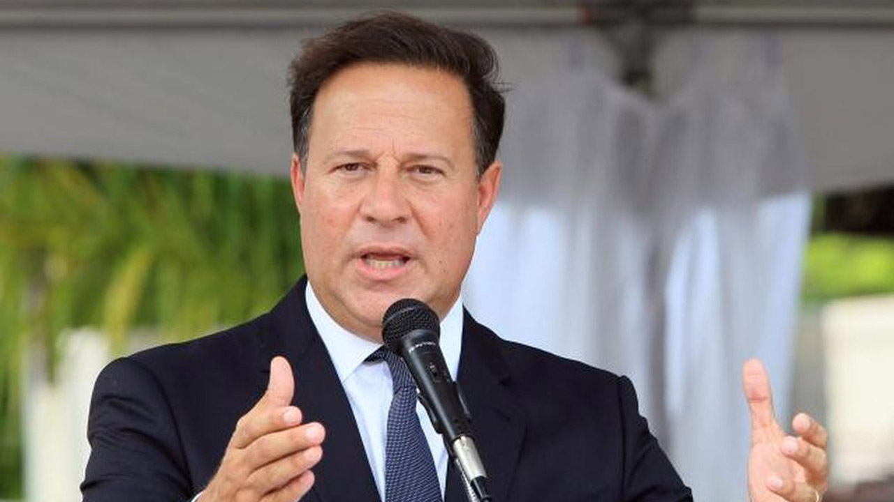 Juan Carlos Varela quiere evitar los crímenes en Panamá
