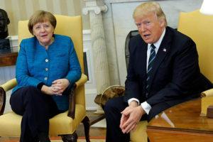 Ambos mandatarios se encuentran en la Casa Blanca