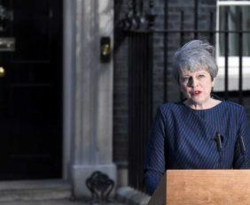 La Primera Ministra Británica, anunció comicios anticipados para el próximo 8 de junio