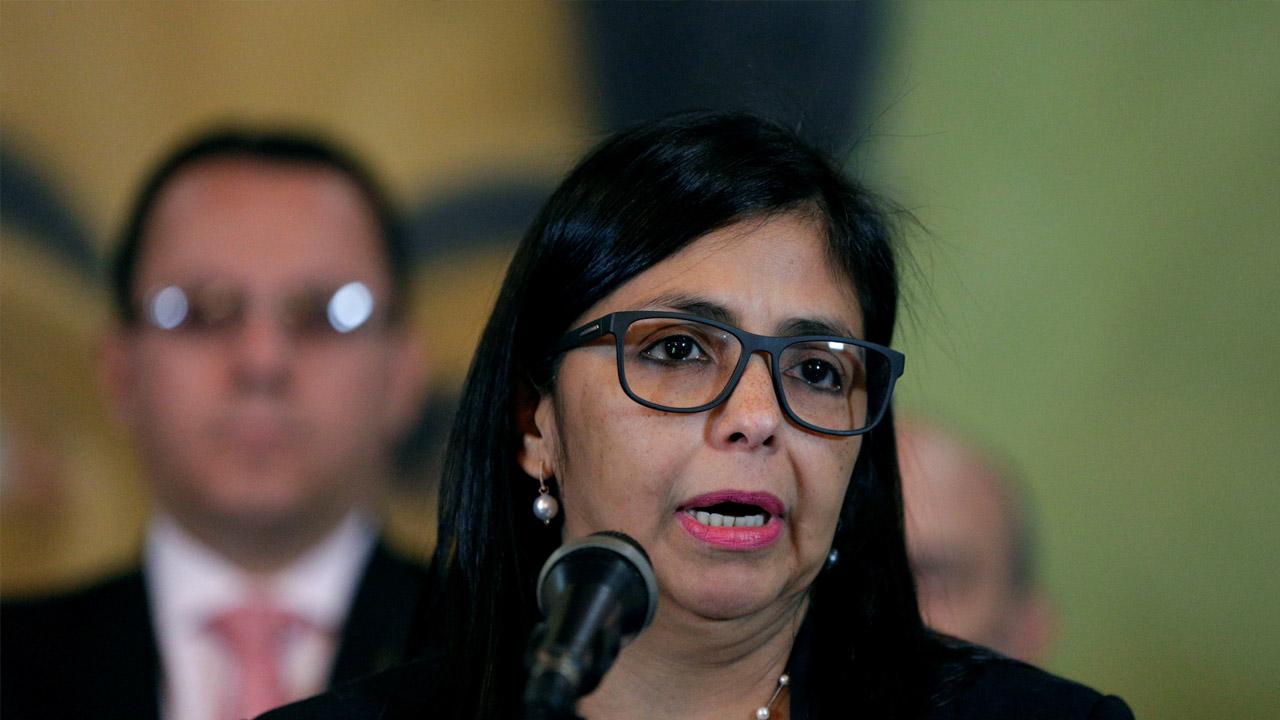 Delcy Rodríguez, rechazó en Consejo Permanente lo dicho por el secretario Luis Almagro ante lo ocurrido en Caracas ayer