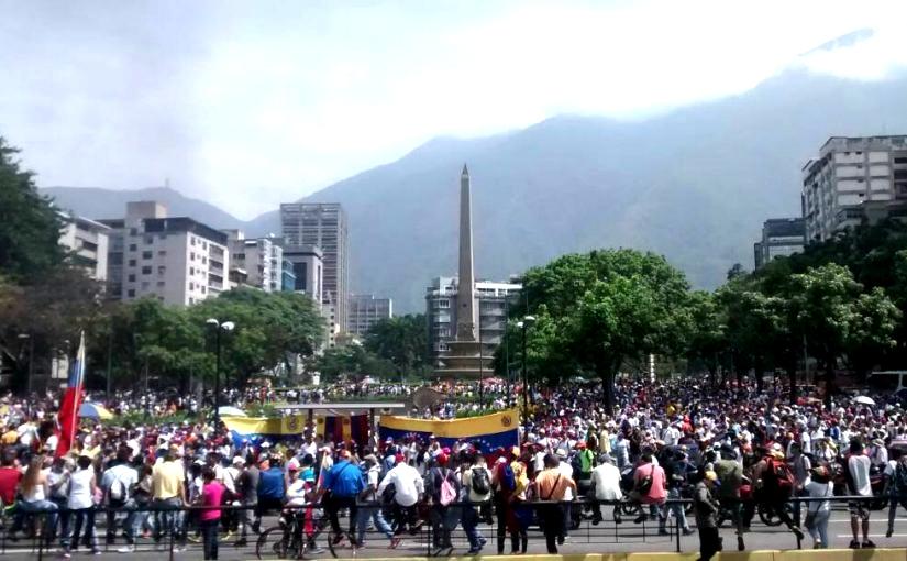 La Mesa de la Unidad brindó detalles de la movilización en Venezuela