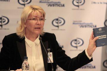 La Fiscal General ofreció un balance sobre los hechos ocurridos en el país e hizo una llamado a la búsqueda de una salida democrática