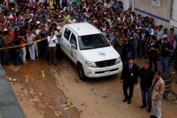 Se presume que un total de 11 personas fallecieron durante los hechos violentos en la zona de la ciudad capital