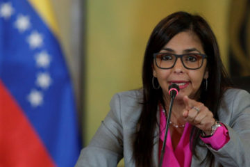 La canciller aseguró que recibió dichas órdenes del presidente Nicolás Maduro si se realiza alguna reunión sin la aval del gobierno venezolano