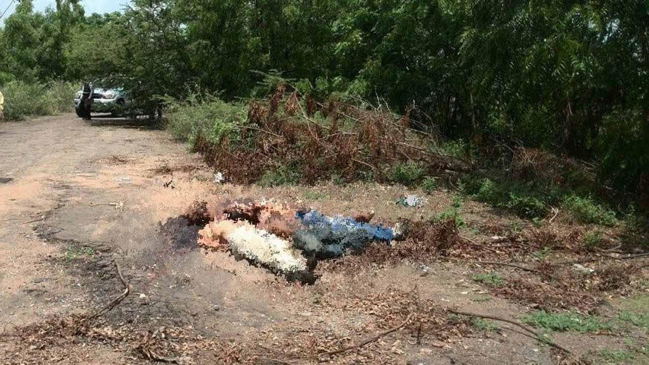 Los cadáveres de sexo masculino se encontraban en una zona boscosa de la parroquia San Isidro