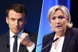 El centrista proeuropeo y la ultraderechista disputarán la segunda vuelta de las presidenciales en Francia