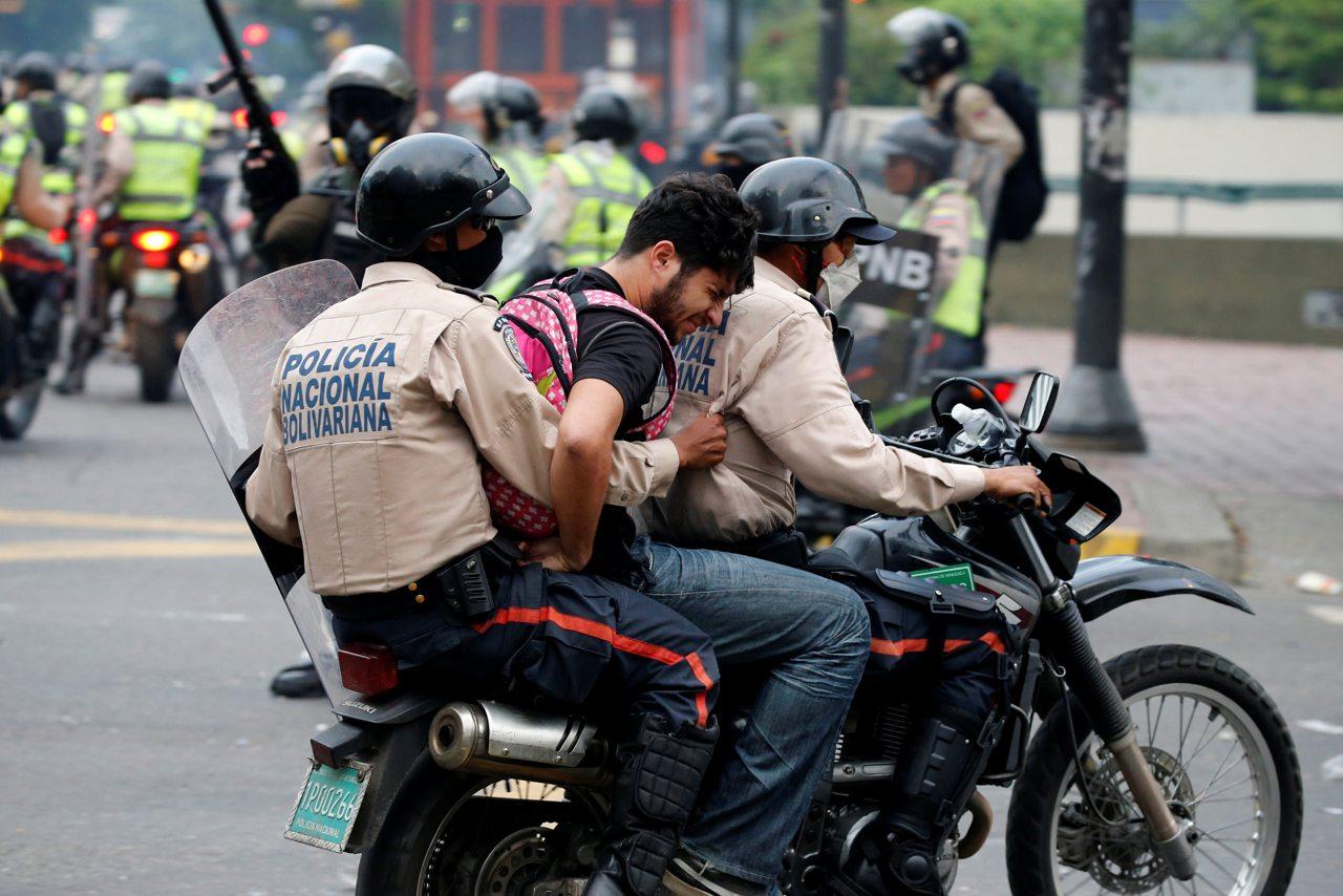 Las detenciones están relacionadas a las protestas y marchas