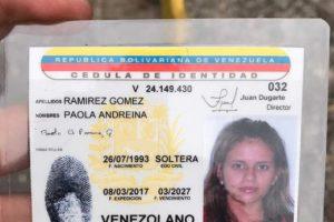 La joven falleció el 19 de abril durante las protestas en Táchira