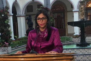 El proceso de desincorporación de Venezuela de la OEA comenzará el día 27 de abril y durará al menos 24 meses, según lo informado por la Canciller