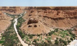 Terrenos secos en Yemen