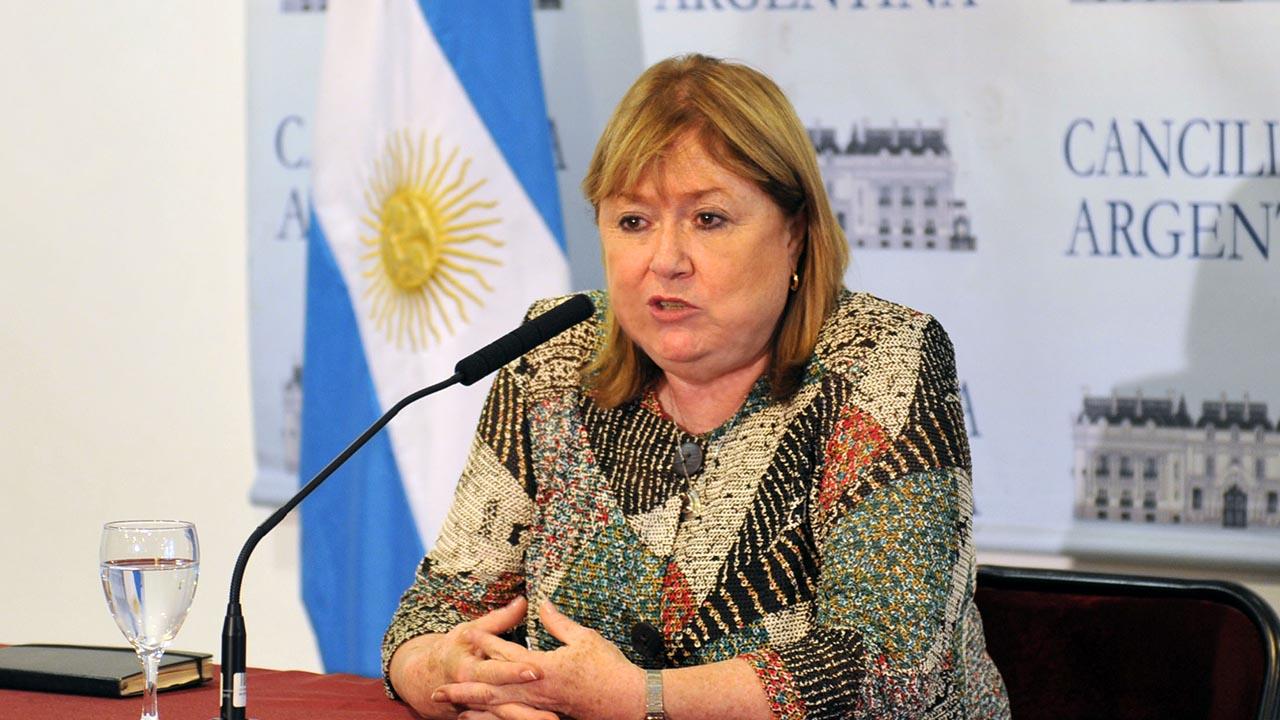 Susana Malcorra quiere paz en Venezuela