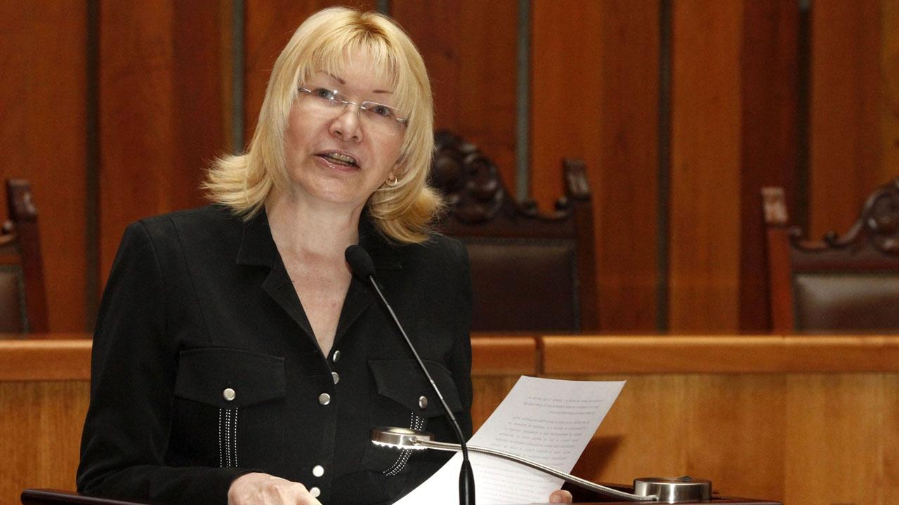 Luisa Ortega Díaz se proclamó ante las manifestaciones en Venezuela