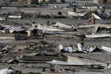 Entre 1000 y 1500 personas fueron evacuadas y trasladadas a lugares de alojamiento temporal