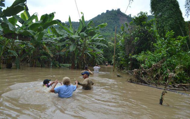 258 familias se encuentran en albergues y 229 viviendas han quedado destruidas