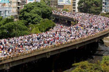 La oposición brindó un balance de la movilización de este 19 de Abril y llamó a movilizarse este jueves