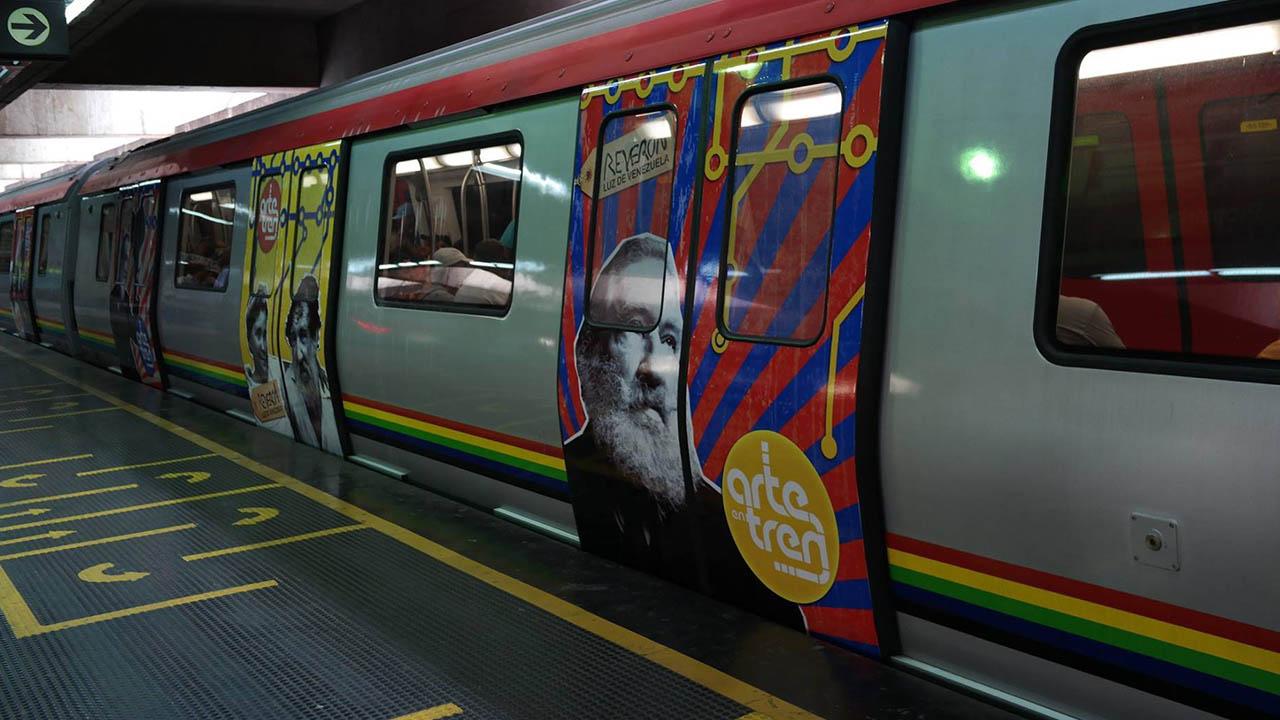 Metro de Caracas cerró 27 estaciones