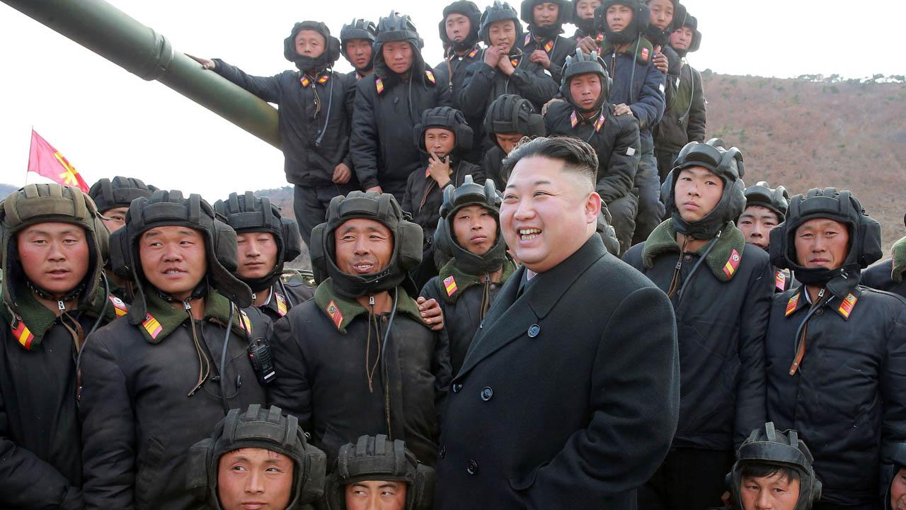 Ante la movilización de la flota norteamericana, Corea del Norte expresó sus medidas defensivas