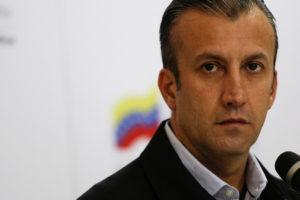 """El vicepresidente Tareck El Aissami hizo un llamado a la """"marcha histórica"""" que saldrá desde varios puntos de Caracas"""