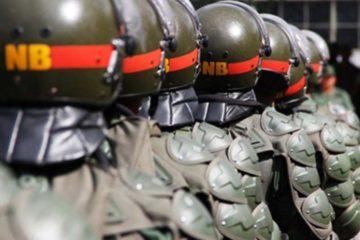 Los militares están presos