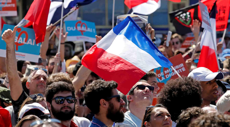 Dentro de trece días los franceses elegirán a un nuevo jefe de Estado