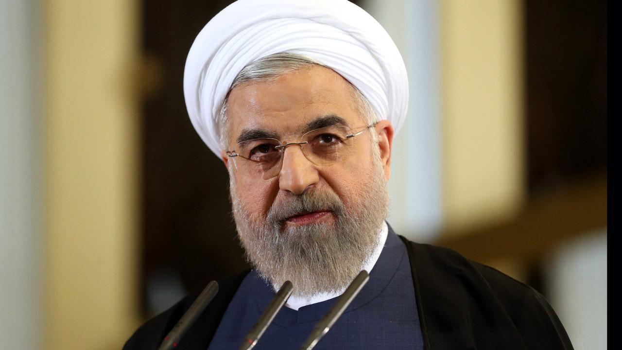 Hassan Rouhani registró su candidatura para las elecciones presidenciales que se realizarán en mayo