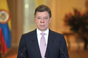 El presidente colombiano realizó el anuncio para referirse a la situación que atraviesa Venezuela