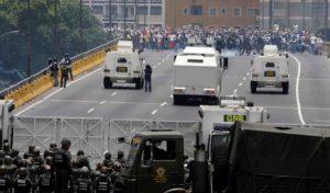 A pesar del comunicado, la GNB reprimió las manifestaciones opositoras en todo el país
