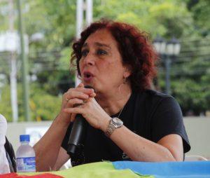 Tamara Adrián es la primera legisladora transgénero en Venezuela