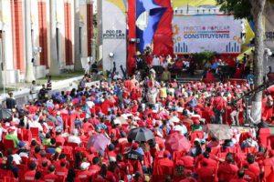 Movimientos sociales y sectores productivos marchan en apoyo a la convocatoria hecha por el presidente Nicolás Maduro