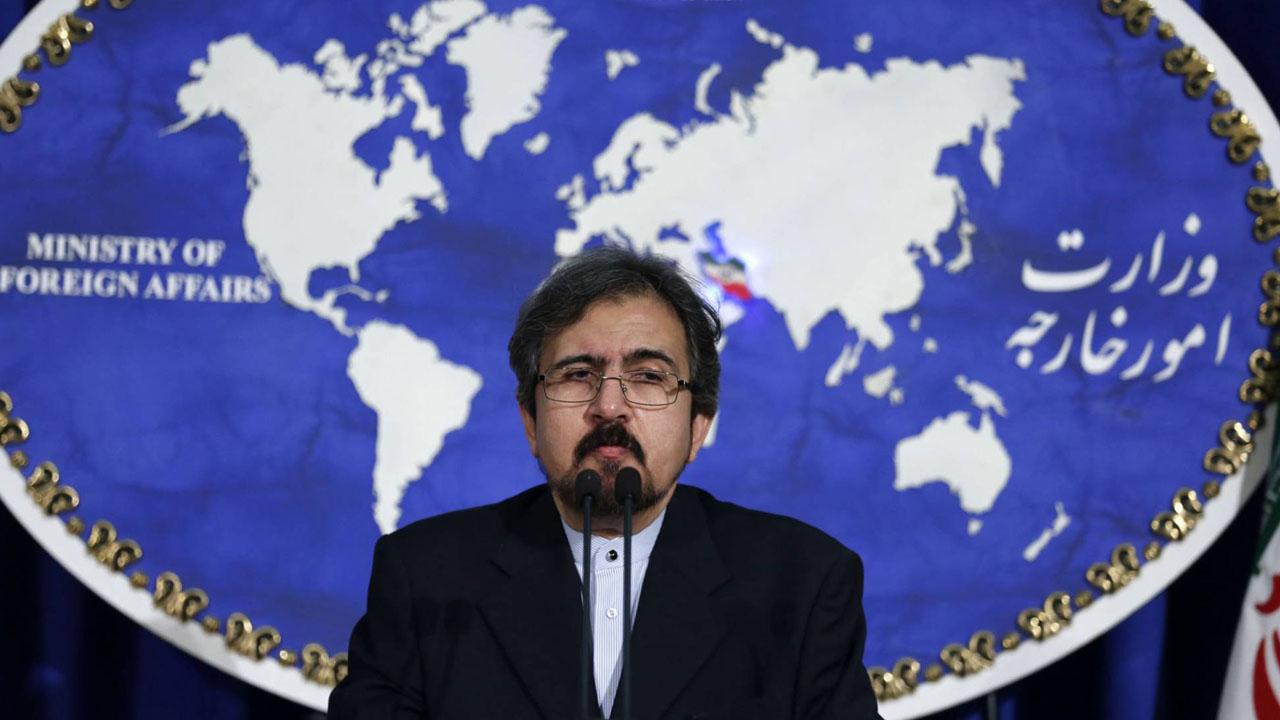 Bahram Ghasemi, portavoz del Ministerio de Relaciones Exteriores, señaló de ilegales las medidas aplicadas debido a su programa balístico