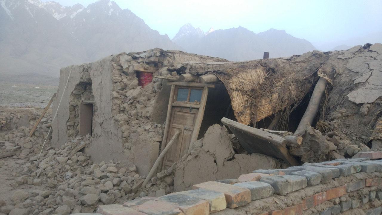 El movimiento telúrico se registró en el condado de Taxkorgan dejando más de 20 personas heridas y 12 mil afectados