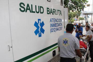 Salud Chacao ha atendido a 20 heridos y Salud Baruta a 37, todos provenientes de las manifestaciones opositoras