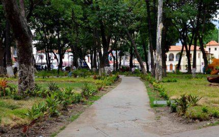 El periodista Luis Carlos Díaz informó que los funcionarios detonaron bombas lacrimógenas contra las residencias