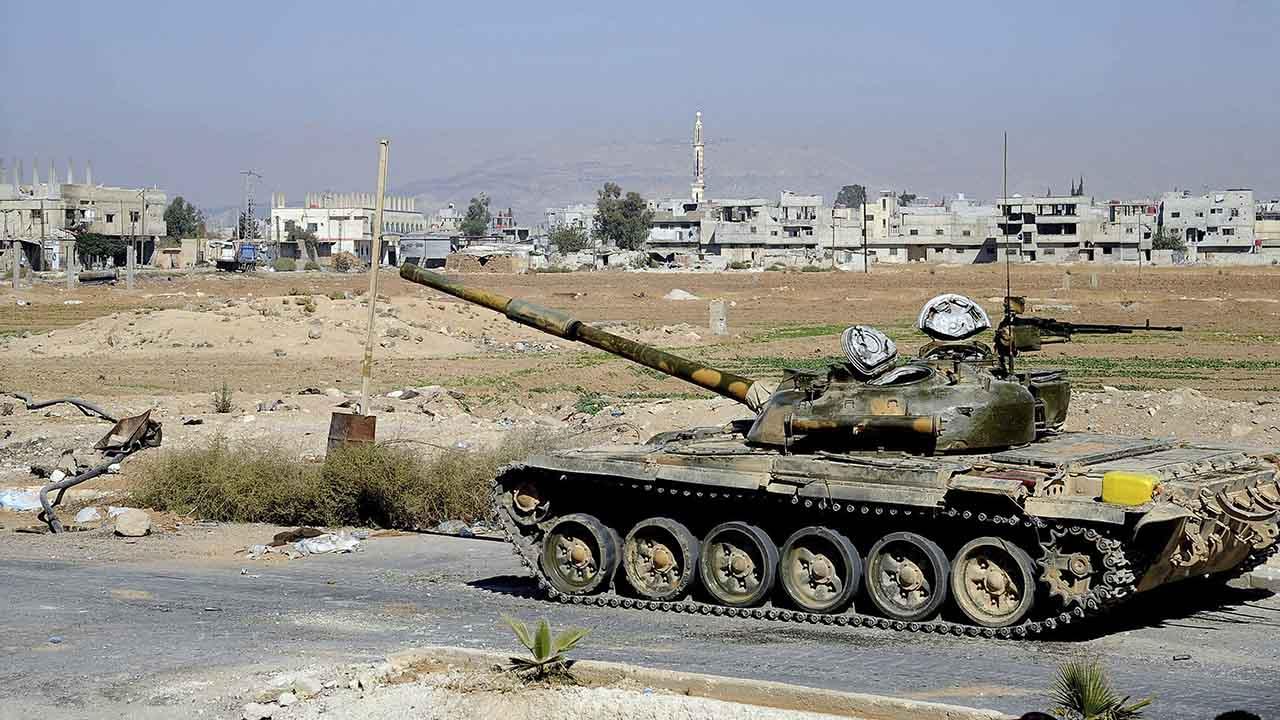 En la zona del bombardeo operan milicianos iraníes y del grupo chií libanés Hizbulá aliados del Gobierno de Damasco