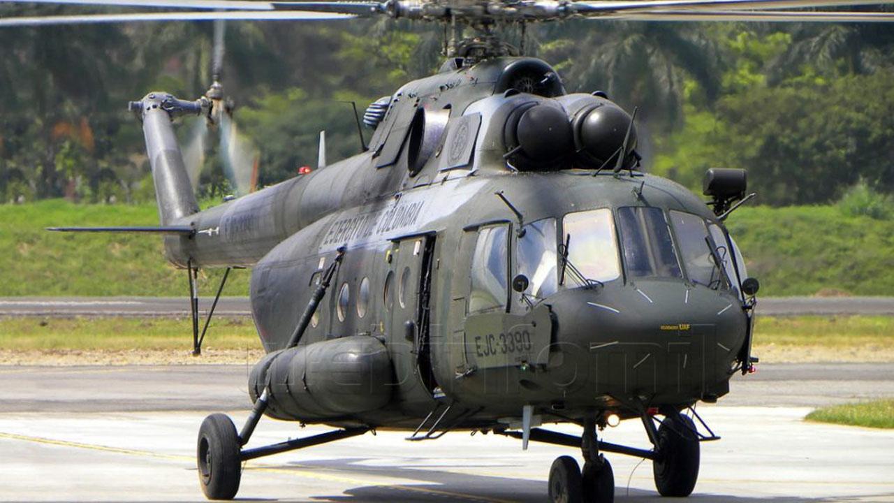 Durante las actividades de patrullaje se localizó los restos del helicóptero sin embargo hay pocas posibilidades de hallar sobrevivientes