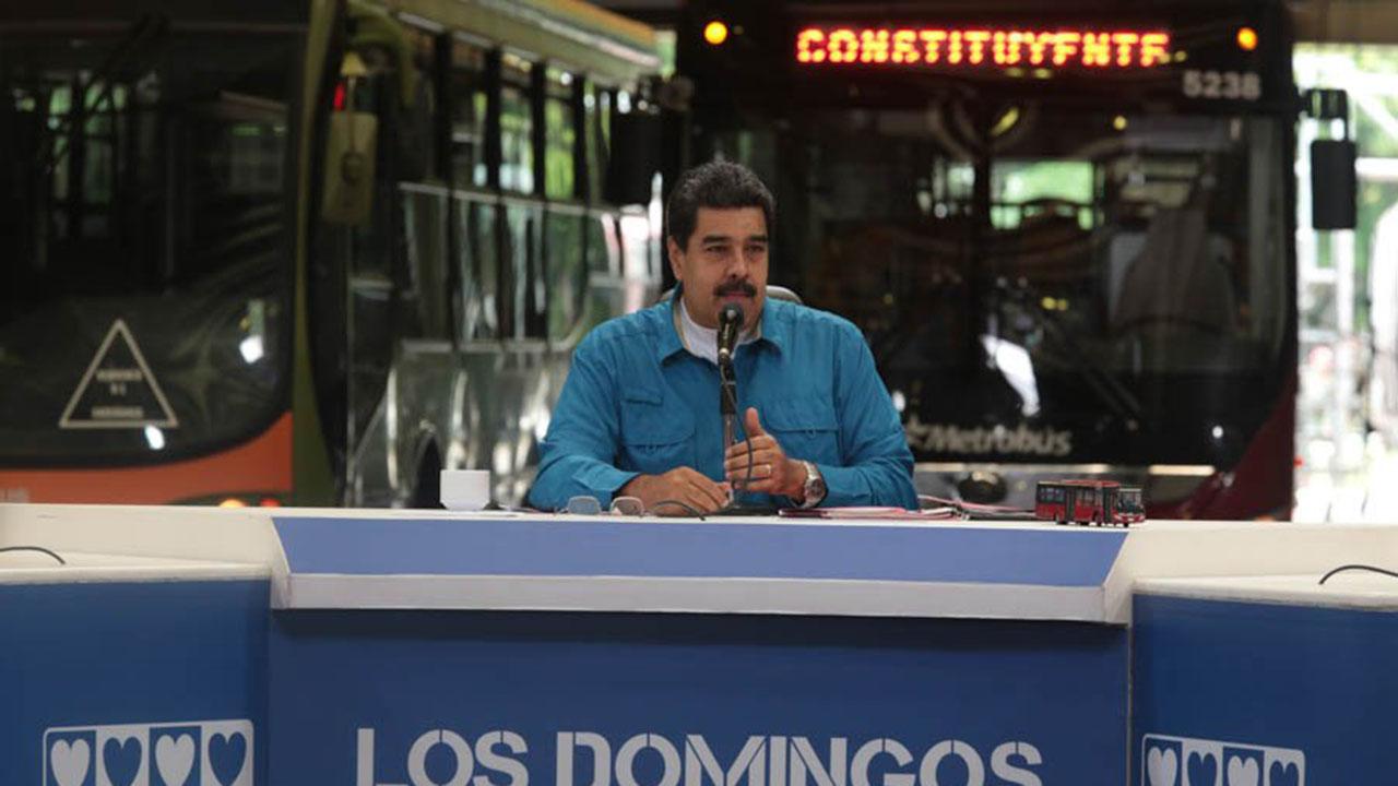 Maduro se refirió a los hechos de violencia que se han vivido en el país, e insistió en la participación en la Constituyente